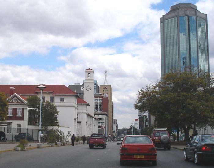 Samora Machel Avenue, Harare - image AD Field